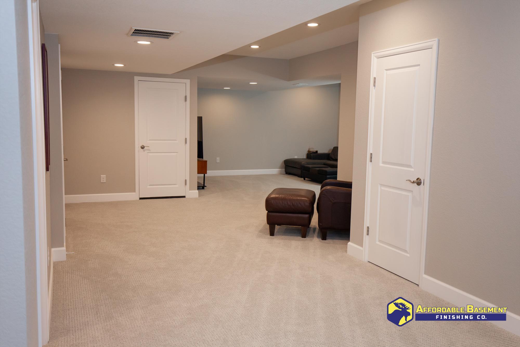 2020 Shower Bathroom Remodel - Denver Basement Finishing and Remodeling