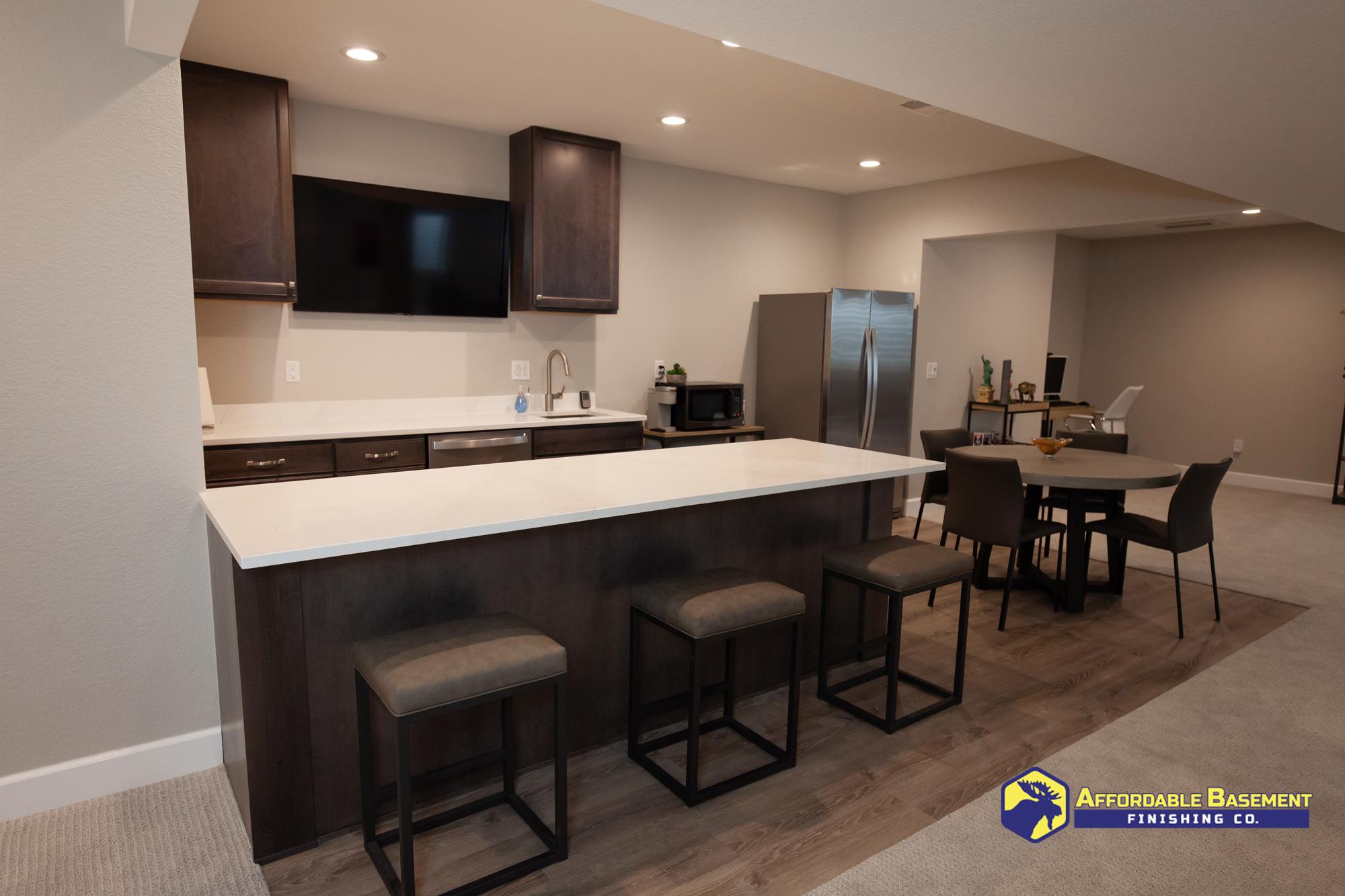 2020 Basement Remodel Remodel - Denver Basement Finishing and Remodeling