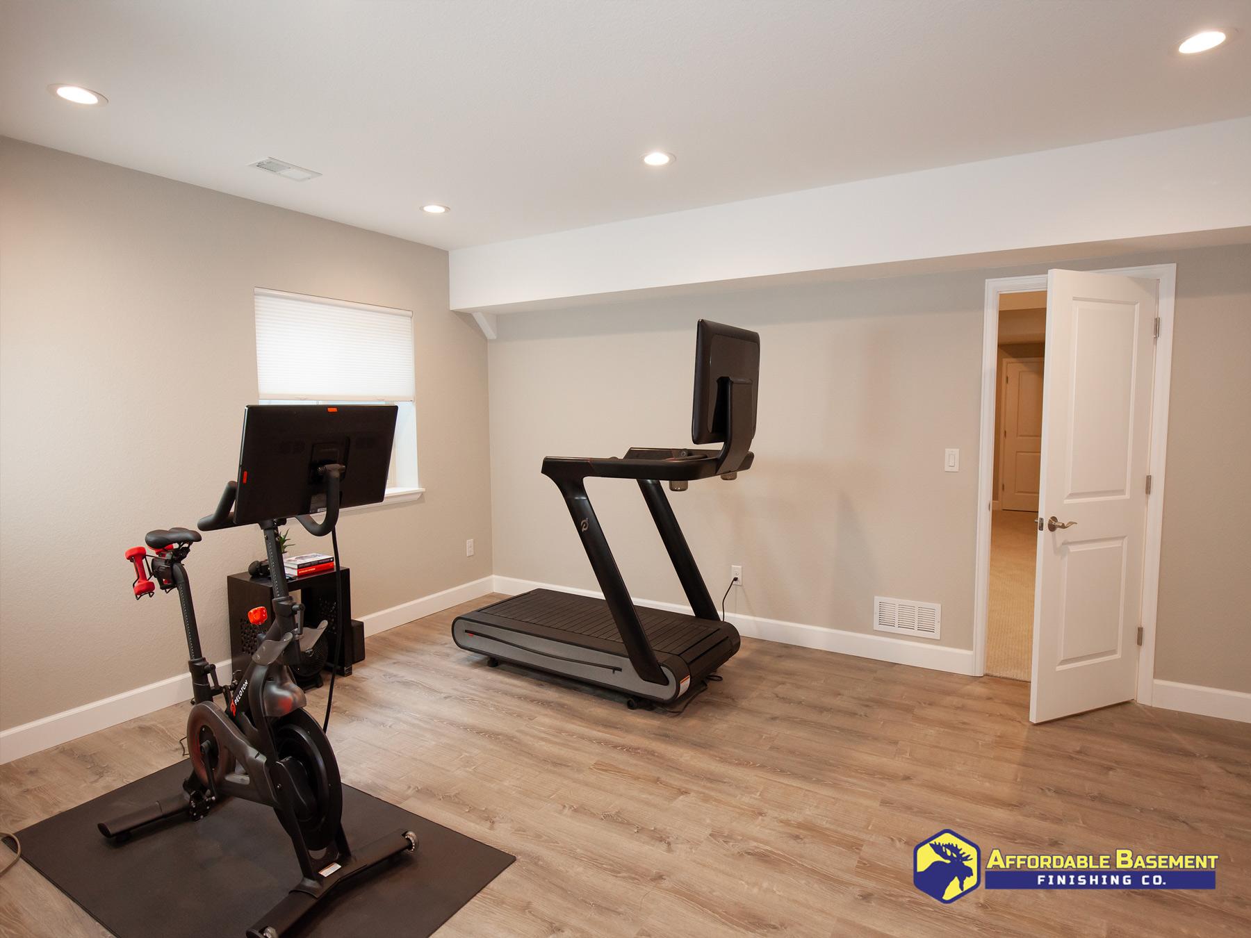 Gym - Denver Basement Finishing and Remodeling