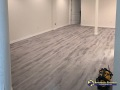 Finished basic basement. With nice wood floors.