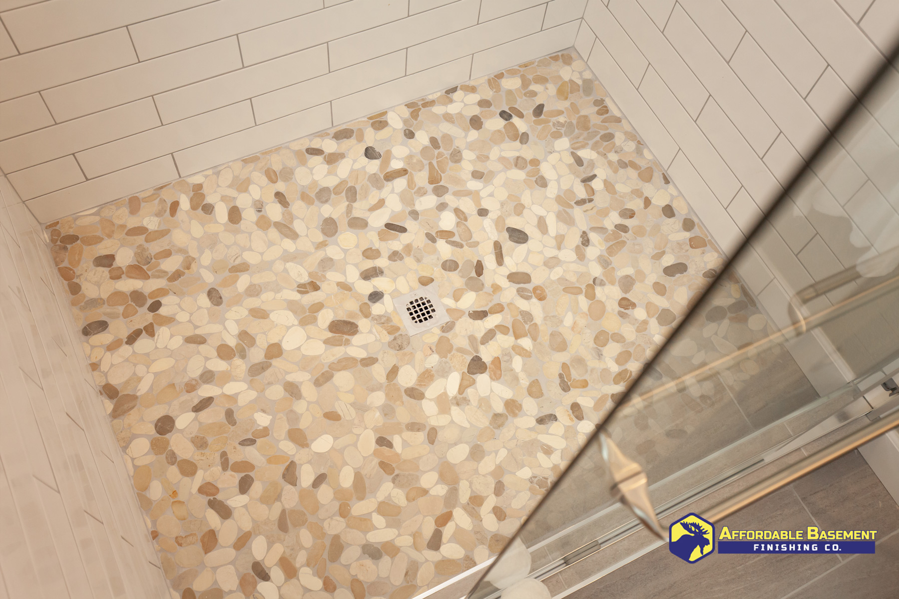 2020 Shower Bathroom Remodel - Denver Basement Finishing and Remodeling