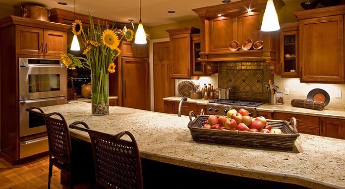 basement kitchen in Denver
