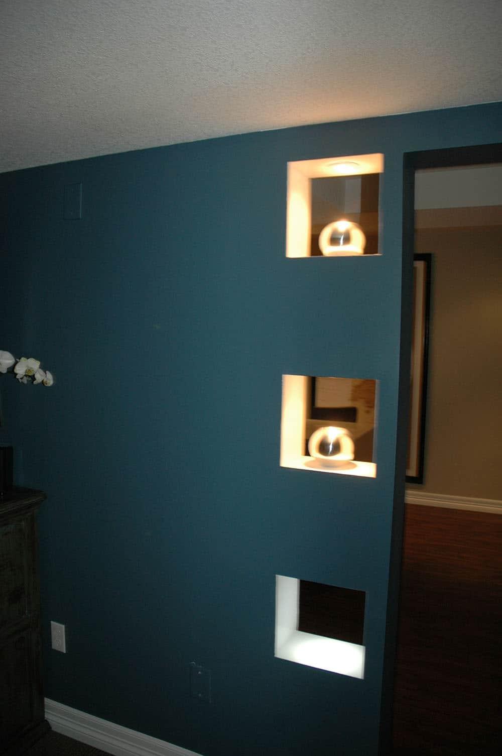 elegant basement unique wall spots