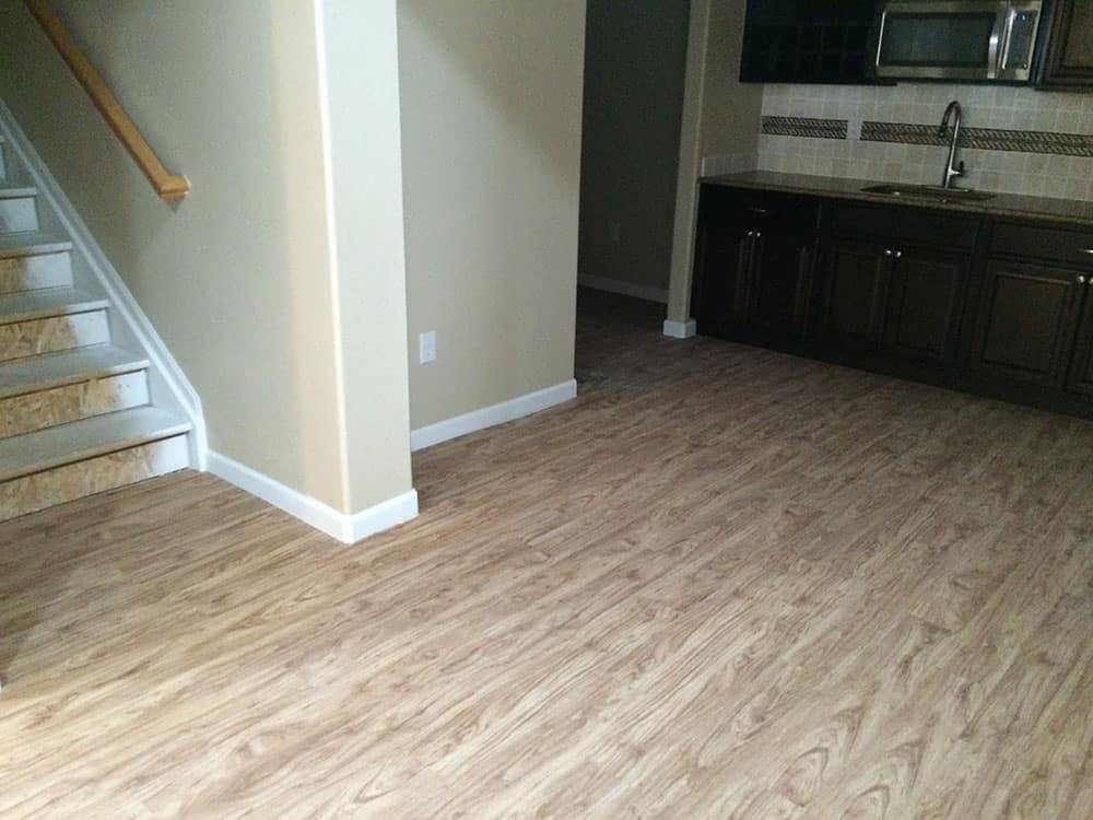 simple wood floors